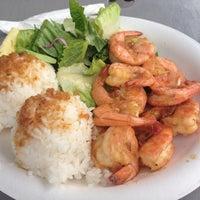 Photo taken at Macky's Shrimp Truck by kahoru m. on 11/26/2012