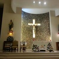 Photo taken at Iglesia San Judas Tadeo by Los Cabos Tourism on 5/15/2014