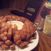 Photo taken at Outback Steakhouse by Monika S. on 5/8/2013