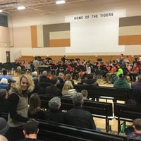 Photo taken at Erie Middle School by Matt F. on 2/25/2016