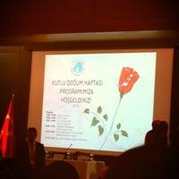 Photo taken at Üsküdar Üniversitesi Nermin Tarhan Konferans Salonu by Tuğba D. on 4/18/2013