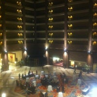 Photo taken at Hilton Anatole by Timothy W. on 12/16/2012