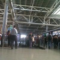 Photo taken at Terminal de Buses San Borja by Daniela Q. on 1/7/2013