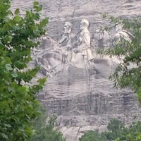 Photo taken at Stone Mountain Park by Chris S. on 7/27/2013