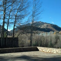 Photo taken at Aspen Meadows Resort by Marissa W. on 10/22/2012