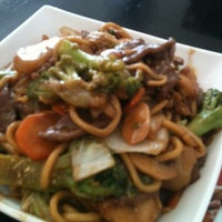Photo taken at China in Box by Renata A. on 4/11/2013