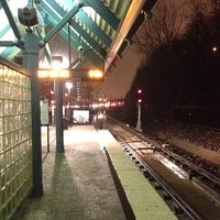 Photo taken at NJT - Port Imperial Light Rail Station by Alex T. on 11/27/2013