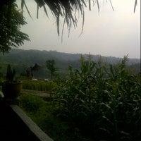Photo taken at De'Saung Gunung Salak by Gyna S. on 10/6/2013