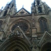 Photo taken at Basilique Sainte-Clotilde by Aziz B. on 6/22/2013