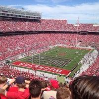 Photo taken at Ohio Stadium by Mackensie P. on 9/15/2012