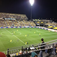 Photo taken at MAPFRE Stadium by Pinar D. on 9/30/2012