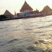 Photo taken at Chao Phraya River by Sura B. on 1/3/2013