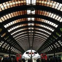 Photo taken at Stazione Milano Centrale by Andrea P. on 5/17/2013
