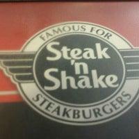 Photo taken at Steak 'n Shake by Rich L. on 4/24/2016