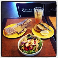 Photo taken at Paradise Bakery & Café by Dawson H. on 10/16/2012