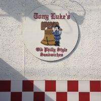 Photo taken at Tony Luke's by Emmett S. on 9/14/2012
