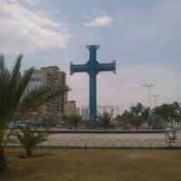 Photo taken at Plaza de la Cruz by Fredrinksson G. on 3/25/2013