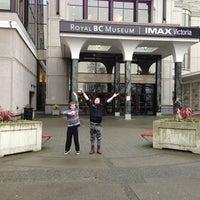 Photo taken at Royal British Columbia Museum by Vicki H. on 1/4/2013