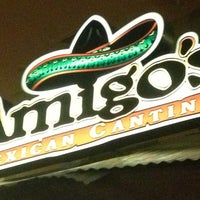 Photo taken at Amigos Mexican Cantina by TheFoodDudez L. on 2/28/2013