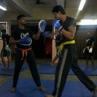 Photo taken at fighting fit dojo (mma) by Hemal S. on 3/19/2014