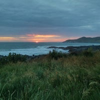 Photo taken at Woolacombe Beach by Gavin F. on 6/23/2013