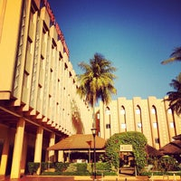 Photo taken at Azalai Hotel Independance Ouagadougou by kool__ on 12/6/2012