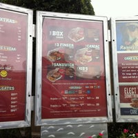 Photo taken at Raising Cane's Chicken Fingers by Deanna E. on 10/16/2012