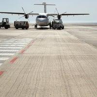 Photo taken at Aeropuerto de Fuerteventura (FUE) by Anael S. on 7/29/2013