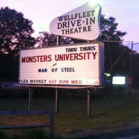 Photo taken at Wellfleet Drive-in and Cinemas by EventSpark on 6/27/2013