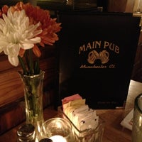 Photo taken at Main Pub & Restaurant by Peter L. on 10/7/2012