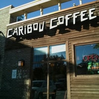 Photo taken at Caribou Coffee by Young Gyun W. on 10/31/2012