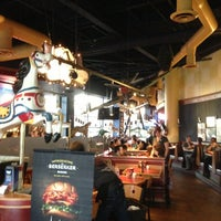 Photo taken at Red Robin Gourmet Burgers by Mark F. on 6/22/2013