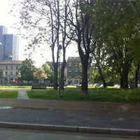 Photo taken at Piazza Tirana by Andrea P. on 4/17/2012