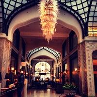 Photo taken at Four Seasons Hotel Gresham Palace Budapest by Pavel П. on 3/17/2013