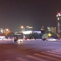 Photo taken at Tianhe Sports Center by Conan T. on 10/15/2013