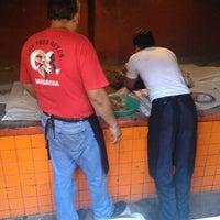 Photo taken at Los Tres Reyes - Barbacoa by Mario M. on 2/10/2013