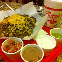 Photo taken at Roberto's Taco Shop by Mario on 10/3/2012