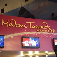 Photo taken at Madame Tussauds New York by Kate I. on 7/6/2013