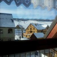 Photo taken at Resrauracja Główna @ Szarotka Vital&Spa Resort by Piotr S. on 2/7/2013