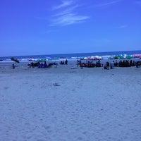 Photo taken at Hải Hoà Beach by Son H. on 6/30/2013