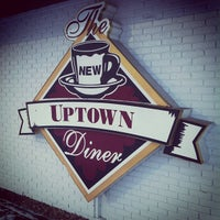 Photo taken at Uptown Diner by Michael K. on 12/20/2012