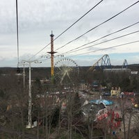 Photo taken at Skyway Cable Cars by Eric S. on 4/2/2016
