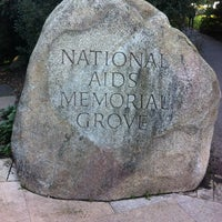 Photo taken at The National AIDS Memorial Grove by Vika on 1/12/2013