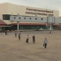 Photo taken at Udon Thani International Airport (UTH) by Nrng C. on 7/17/2013