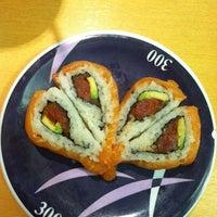 Photo taken at Marinepolis Sushi Land by Kristin D. on 2/14/2013