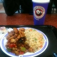 Photo taken at Panda Express by John on 10/22/2012