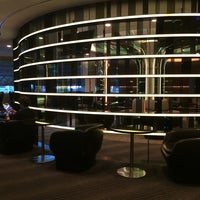 Photo taken at EVA Air Lounge by Tiffany Chang on 4/27/2014