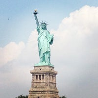 Photo taken at Statue of Liberty by Simona D. on 6/27/2013