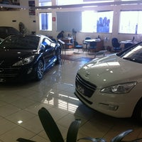 Photo taken at Peugeot BORDEAUX by Michel on 10/6/2012