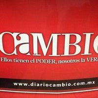 Photo taken at Diario Cambio by Armando A. on 6/25/2013